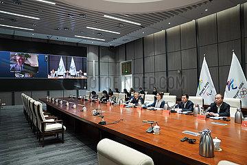 (SP) CHINA-PEKING PEKING 2022-Projekt-Review-MEETING (CN)