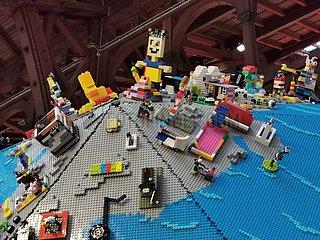 DÄNEMARK-KOPENHAGEN-WORLD CHILDREN'S DAY-LEGO