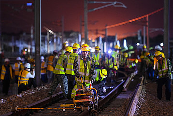 CHINA-GUANGDONG-SHENZHEN-RAILWAY STATION-RECONSTRUCTION (CN)