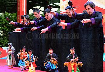 CHINA-FUJIAN-FUZHOU-traditionelle Kultur-MARIONETTE (CN)
