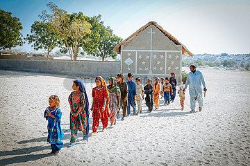 Dorfschule in Rar