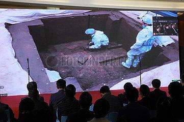 CHINA-Shanghai-Sanxingdui RUINS-Ausstellung (CN)