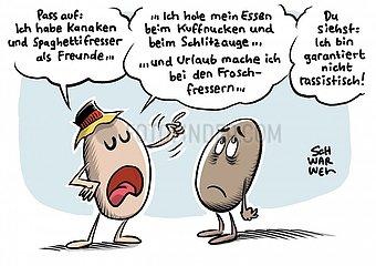 Rassismus toetet auch in Deutschland