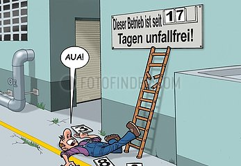 Accident Arbeitsunfall