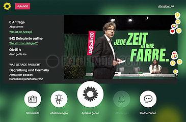 Greens Party Digital Congress - Corona crisis
