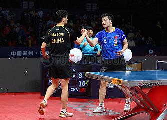 (SP) CHINA-ZHENGZHOU-TABLE TENNIS-ITTF-FINALS-MEN sondert-FINAL (CN)