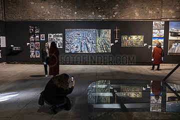 TURKEY-ISTANBUL-COVID-19-ART SHOW-BASE-TURKEY ISTANBUL-COVID-19-ART SHOW-BASE