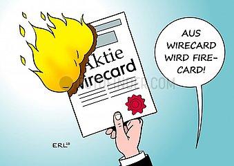 Wirecard-Aktie