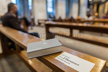 Gottesdienst Heilige Messe katholische Kirche Massnahmen CORONA Pandemie 19.11.2020