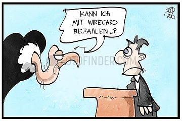 Wirecard meldet Insolvenz an