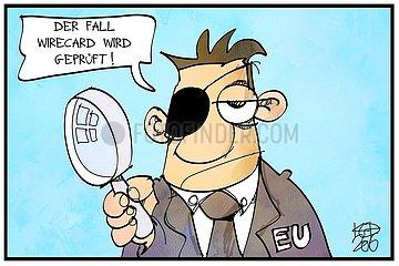 Die EU prueft den Fall Wirecard