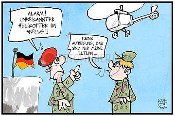 Wenn Kinder von Helikopter-Eltern zur Bundeswehr muessen