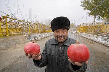 CHINA-XINJIANG-PIYALMA-POMEGRANATE (CN)