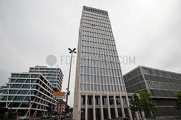 Berlin  Deutschland  Zentrale der Total Deutschland GmbH in der Europacity in Moabit