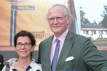 Iffezheim  Deutschland  Dr. Stefan Oschmann  Unternehmer  mit Ehefrau Shapar