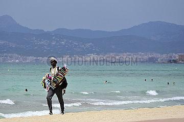 Spanien  Balearen  Mallorca - Mallorcaurlaub waehrend der Coronakrise