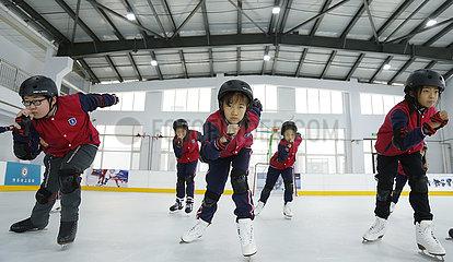 #CHINA-HEBEI-XINGTAI-WINTER SPORTS-SCHOOL (CN)