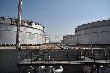 SAUDI ARABIA-JEDDAH-OIL TANK-ATTACK