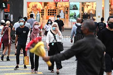 MALAYSIA-KUALA LUMPUR-COVID-19-CASES