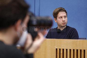 Bundespressekonferenz zum Thema: Radikalisierung und Normalisierung - Gefahr durch Antisemitismus und Corona-Leugner-Szene w?chst