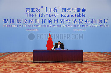 CHINA-BEIJING-LI KEQIANG- 1+6 ROUNDTABLE