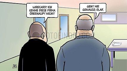 Scholz Altmaier Wirecard