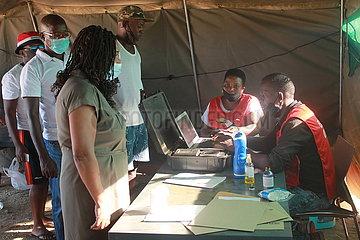 NAMIBIA-WINDHOEK-ELECTIONS-VOTE
