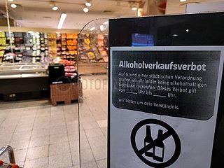 Alkoholverkaufsverbot