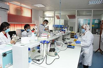 MOROCCO-RABAT-COVID-19-TEST
