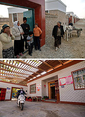 (POVERTY RELIEF ALBUM) CHINA-XINJIANG-ABSOLUTE POVERTY-ELIMINATION (CN)