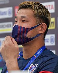 (SP)QATAR-DOHA-AFC CHAMPIONS LEAGUE-PRESS CONFERENCE-FC TOKYO