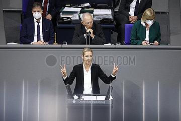 Plenum  Dt. Bundestag  26. November 2020