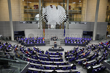 Plenum  Dt. Bundestag  26. November 2020