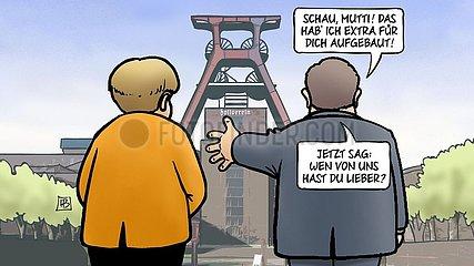 Merkel bei Laschet