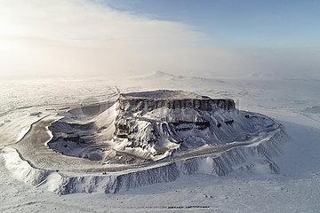 CHINA-INNER MONGOLIA-ULANQAB-VOLCANO (CN)