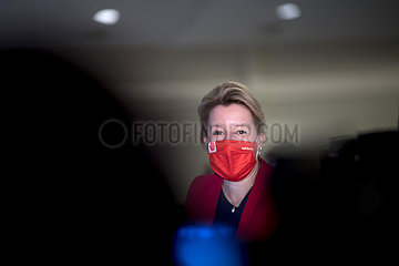 Franziska Giffey - Parteitag SPD Berlin