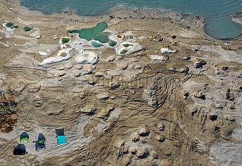 MIDEAST-DEAD SEA-SINKHOLES