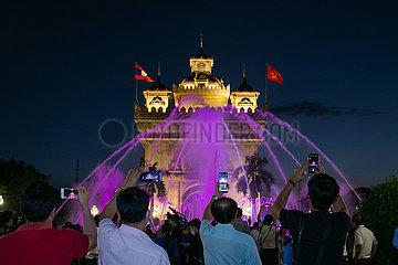 LAOS-VIENTIANE-CHINA-LIGHTING SYSTEM