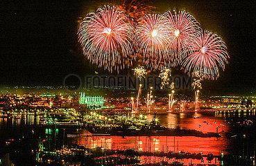Feuerwerk auf Mallorca (Archivbild)