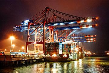 Eurogate Container Terminal Hamburg
