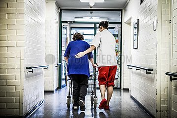 Symbolfoto zum Thema Altenpflege (Archivbild)
