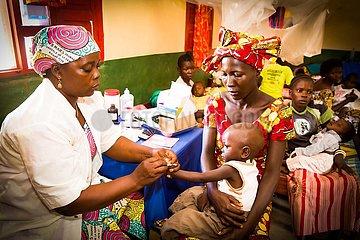 Malaria Hot Spot - Hospital im Kongo