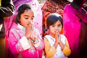 Weihnachten in Pakistan in der katholischen Enlave Khushpur