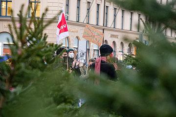Protest gegen das bayerische Hochschulinnovationsgesetz in München