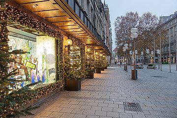 Wirtschaftskrise für den Einzelhandel: Kaum Menschen sind in der Fußgängerzone unterwegs