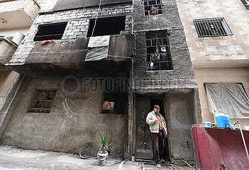 SYRIEN-DAMASKUS-Jarmuk-RETURN SYRIEN-DAMASKUS-Jarmuk-RETURN