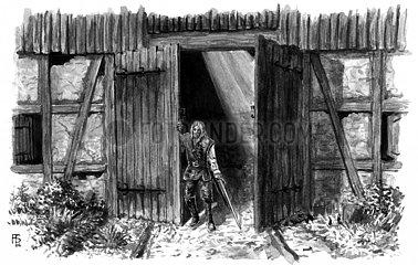 Soeldner in der Scheune