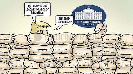 Trump-Barrikade
