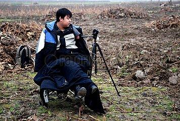 (FOCUS)CHINA-HENAN-XINXIANG-LIVESTREAMER WITH DISABILITIES (CN)