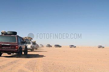 LIBYA-TRIPOLI-DESERT TOURISM-COVID-19